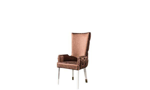 Delux Lüks sandalye modelimiz şık tasarımı ile evinize ışıltı katmaya sofralarınıza eşlik etmeye Lucca ile geliyor