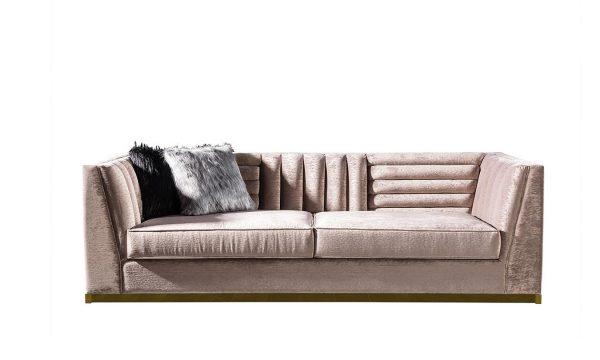 Rixos üçlü koltuk bej modelimiz kaliteli iskelet yapısı ve kumaş kalitesiyle evinizin yıldızı olmaya hazır; Lüks Kanepe+koltuk modelleri Lucca Luxury'de