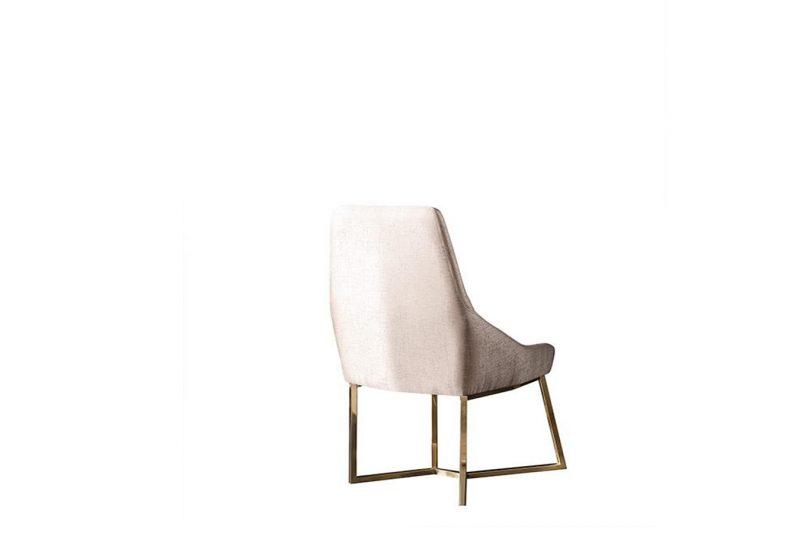 Rixos gold metal ayaklı sandalye modelimiz Lucca'da sizlerle