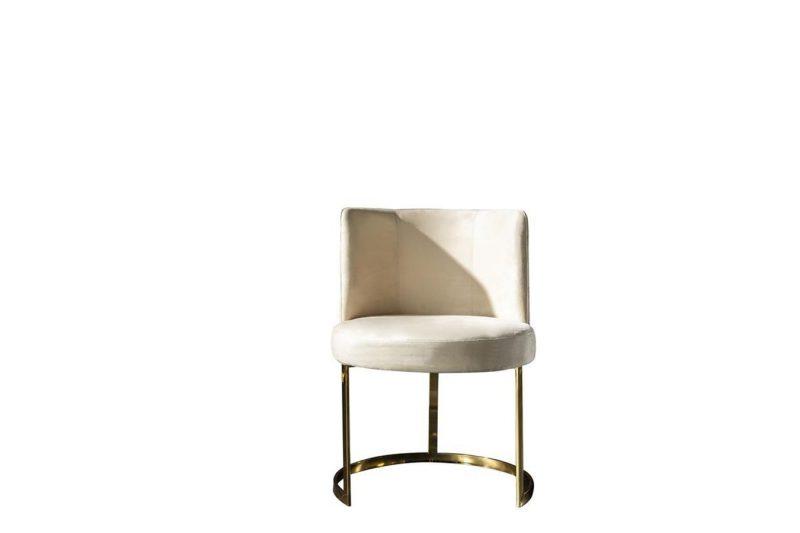 Roma gold metal ayaklı sandalye modelimiz Lucca'da
