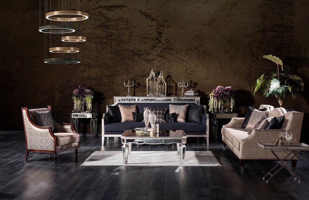Lüks ve Modern chanel koltuk takımı modelimiz tasarımı ve şık detayları ile lüksün adresi Lucca'da sizi bekliyor.