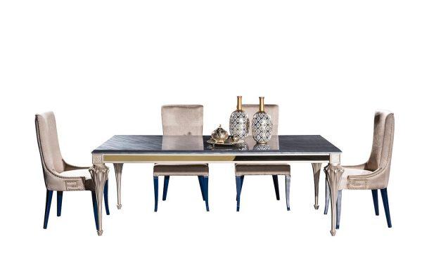 Lüks Palazzo yemek masası modelimiz tarzınıza tarz katmaya Lucca ile geliyor