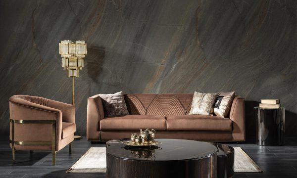 Milano luxury koltuk takımı modern tarzıyla evinize çok yakışacak