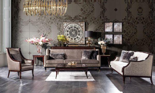 Klasik Paradise koltuk takımı modelimiz şık tasarımı ve modern şıklığıyla evinize çok yakışacak tasarım lüksün adresi Lucca'da