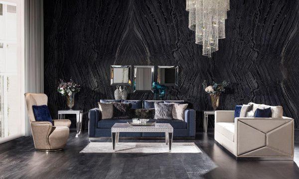 Lüks Richmond koltuk takımı modelimiz birbiriyle uyumlu renkleri ve lüks detaylı tasarımıyla evinize çok yakışacak ürünümüz Lucca'da